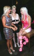 Sabrina A. Parisi, Vikki Lizzi and Angelique 'frenchy' Morgan