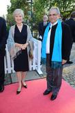 Friede Springer and Jose Ramos Horta