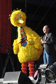 Big Bird and World Bank Group President Dr. Jim Yong Kim