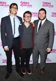 Gideon Glick, Brian Charles Johnson and Gerard Canonico