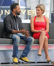Mike Epps and Charissa Thompson
