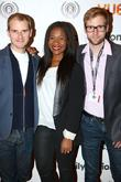 Luke Healy, Karen Bryson and Anthony Woodley