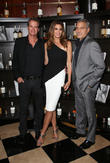 Rande Gerber, Cindy Crawford and George Clooney
