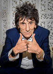 Ronnie Wood Introduces Twins To The World On Father's Day
