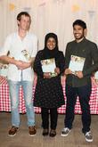 Nadiya Hussain, Tamal Ray and Ian Cumming