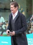 David Hasselhoff Launches Peter Pan In Scotland