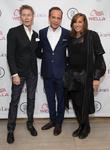 Calvin Klein, Louis Licari and Donna Karan