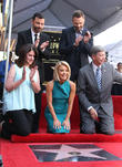 Jimmy Kimmel, Maureen Schultz, Joel Mchale, Kelly Ripa and Leron Gubler