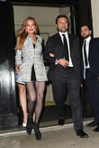 Lindsay Lohan and Giorgio Damiani