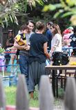 Halle Berry, Olivier Martinez and Maceo Robert Martinez