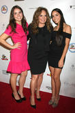 Catherine Bach, Sophia Isabella Lopez and Laura Esmeralda Lopez