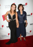 Kim Biddle and Anne Archer