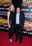 Amy Pollan and Michael J. Fox
