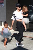 Kourtney Kardashian, North and Penelope