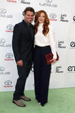 Rachelle Lefevre and Chris Crary