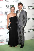 Anel Lopez and Christopher Gorham