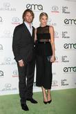 Eric Christian Olsen and Sarah Wright Olsen