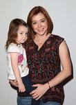 Alyson Hannigan and Emilie Posner