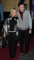 Stephanie Waring and Ross Adams