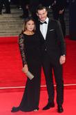 Gareth Bale and Emma Rhys-jones