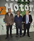 Tom, Patrick and Boris Johnson