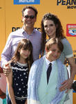 Diedrich Bader, Dulcy Rogers, Sebastian Bader and Ondine Caolila Bader