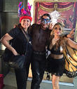 Stella Gomez, Rick Mora and Jenna Urban