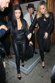 Kourtney Kardashian and Khoe Kardashian
