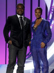 Malcolm Jamal Warner and Eva Marcille