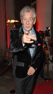 Ian Mckellen Caught Recycling Christmas Gifts