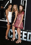 Creed, Sistine Rose Stallone, Sophia Rose Stallone and Scarlet Rose Stallone