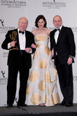 Julian Fellowes and Elizabeth Mcgovern
