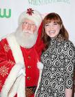 Kennedy Lea Slocum and Santa