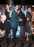 Shah Rukh Khan, Kajol, Kriti Sanon and Varun Dhawan