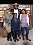 Terry Crews, Rebecca Crews and Kids