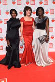 Motsi Mabuse, Birgit Schrowange and Dr. Auma Obama