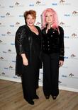Ann Steele and Cyndi Lauper