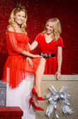 Kylie Minogue Unveils Festive Waxwork At Madame Tussauds