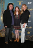 Dot Marie Jones, Bridgett Casteen and Guest