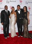 Rodney Peete, Holly Robinson Peete and Ryan Elizabeth Peete