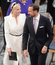 Norwegian Crown Princess Mette Marit and Crown Prince Haakon