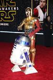 Walt Disney, R2-d2, C-3po and Star Wars