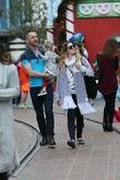Drew Barrymore, Will Kopelman and Frankie Barrymore Kopelman