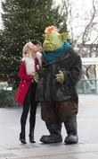 Denise Van Outen and Fungus The Bogeyman