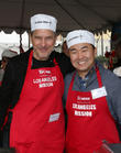 Tim Matheson and David Ryu