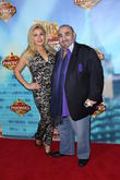 Tia Barr and Ken Davitian