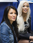 Kelly Hu and Alicia Marie