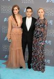 Carly Chaikin, Rami Malek and Portia Doubleday