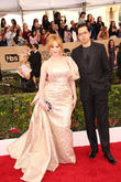 Christina Hendricks and Geoffry Arend