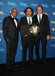 Paris Barclay, Alejandro G. Iñárritu and Tom Hooper